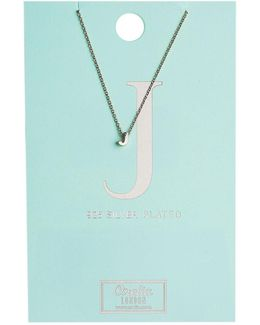 Necklace Initial J