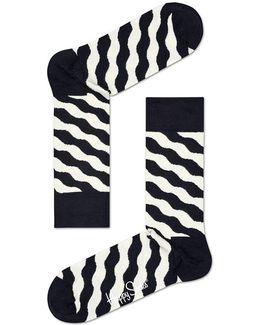 Socks Wavy Polka