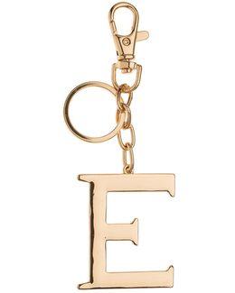 Key Ring Initial E