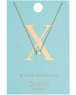 Necklace Initial X