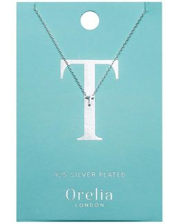 Necklace Initial T