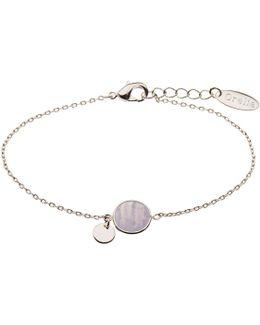 Bead Coin Chain Bracelet