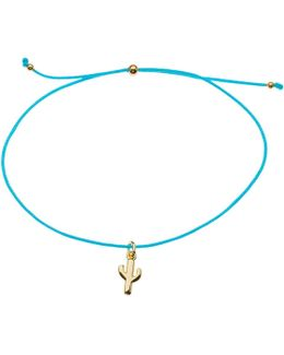 Cactus Charm Friendship Bracelet