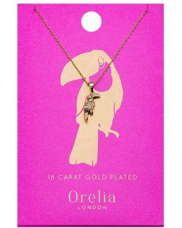 Toucan Ditsy Necklace