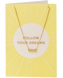 Follow Your Dreams Giftcard