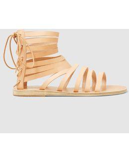 Galatia Lace-back Gladiator Sandals
