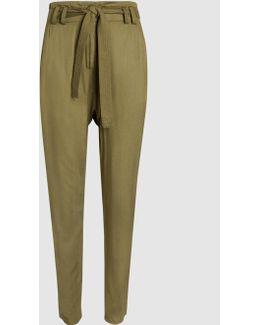 Ansel Tie-waist Trousers
