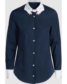 Hands Cotton-poplin Shirt