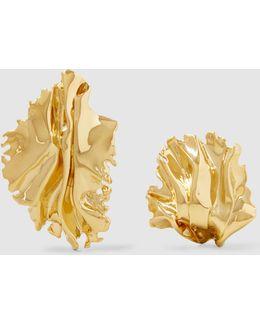 Sea Leaf Earrings