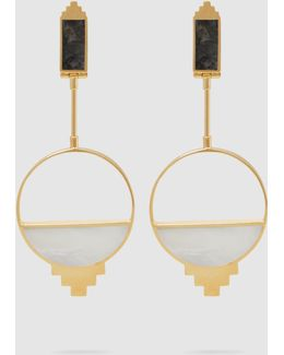 Callao Baby 21kt Gold-plated Earrings