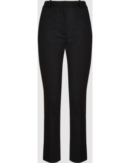 Lou Lou Stretch-wool Slim-fit Trousers