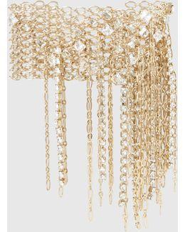 Gold-plated Crystal Bracelet