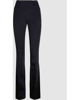 Citadel Flared Satin Trousers