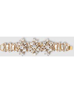 Floral Crystal Bracelet