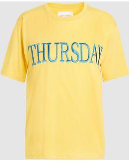 Thursday Cotton T-shirt