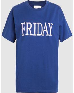 Friday Cotton-jersey T-shirt