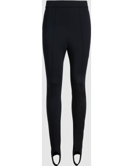 Stirrup Leggings In Jersey With Seam Detail