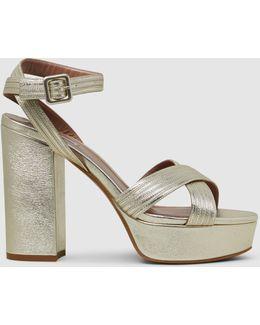 Angel Metallic Napa Sandals