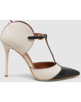 Imogen Two-tone Leather Pumps