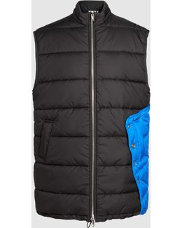 Quilted Sleeveless Puffer Vest