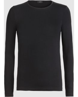 Stretch-jersey Long-sleeved Top