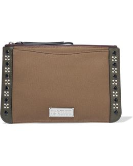 The Roxy 28 Embellished Cotton Clutch