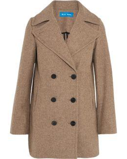 Rosen Double-breasted Wool-blend Coat