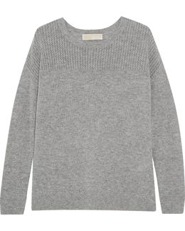 Merino Wool And Cashmere-blend Sweater