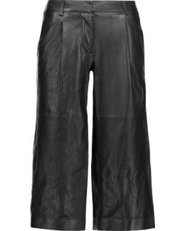 Leather Culottes