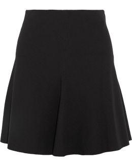 Abrilin Stretch-jersey Mini Skirt