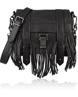 The Ps1 Small Fringed Leather Shoulder Bag
