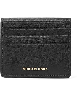 Textured-leather Cardholder