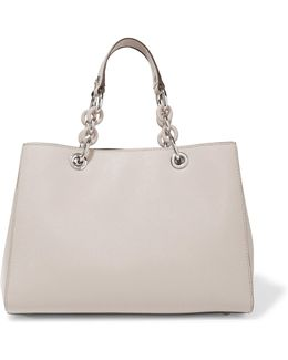 Cynthia Textured-leather Tote