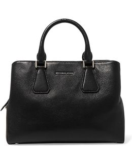 Camille Textured-leather Tote