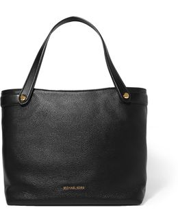 Hyland Textured-leather Tote