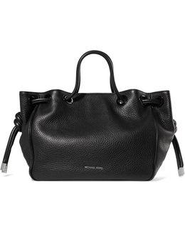 Dalia Textured-leather Shoulder Bag