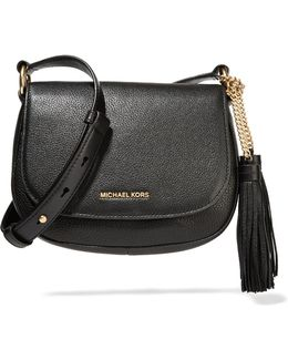 Elyse Medium Textured-leather Shoulder Bag