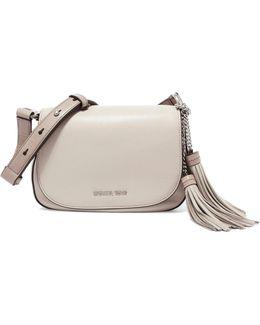 Elyse Medium Textured-leather Shoulder Bag