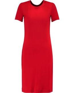 Open-back Satin-jersey Dress