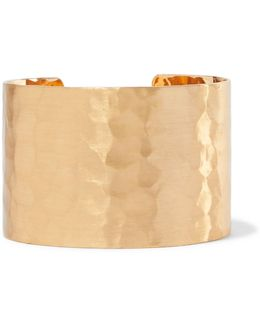 Hammered Gold-tone Cuff