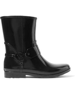 Fulton Embellished Rubber Ankle Boots