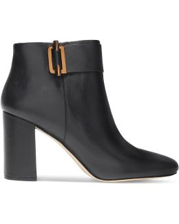 Gloria Leather Ankle Boots