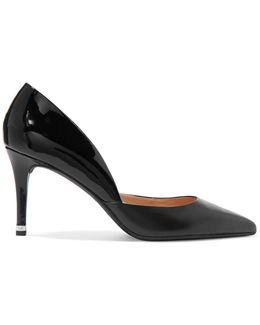 Ashby Patent-leather And Leather Pumps