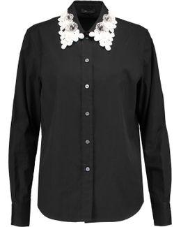 Appliquéd Cotton Shirt