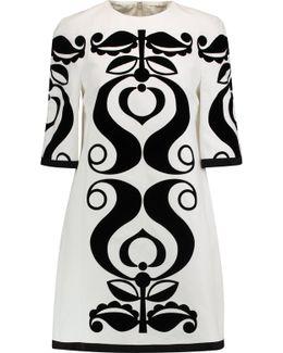 Tabbard Devoré Cotton Mini Dress