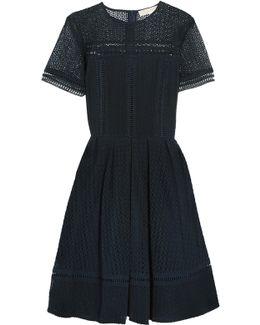 Broderie Anglaise Cotton-blend Dress