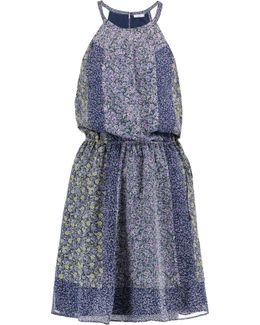 Makana Printed Silk Dress