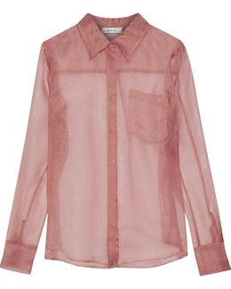 Silk-organza Shirt