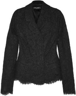 Cotton-blend Lace Jacket