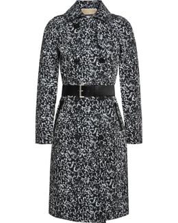 Belted Asymmetrical Zip Coat